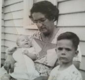 My great grandmother picture…