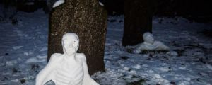 Graveyard Snowmen…