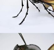 Insect sculptures…