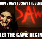 Getting closer to the end of the semester…