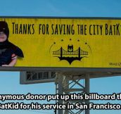 Thank you Batkid…