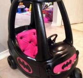Batman's ride…