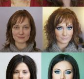 The great power of makeup…