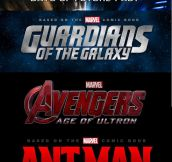 When I see the upcoming movies in 2014/2015…