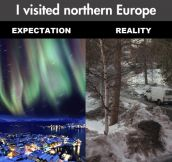 Northern Europe expectations…