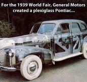 A Plexiglas Pontiac…
