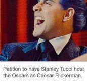 The next Oscar's host…