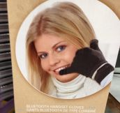 Bluetooth handset gloves…