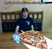 Just one slice…