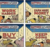 The rat race…