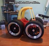 Toddler ride…
