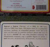 Slang flashcards…