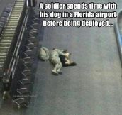 Before being deployed…
