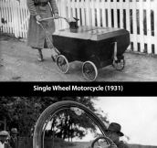 Inventions from the days of yore…
