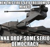 Serious democracy…