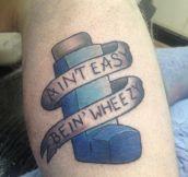 Asthma tattoo…