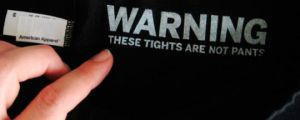 All tights should have this warning…