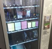 I'm loving this vending machine…
