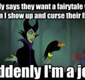 Misunderstood Disney villain…