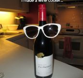 Wine cooler…