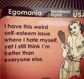 Weird self-esteem issue…