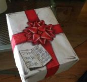 That's better than actual wrapping paper…