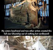 Amazing cardboard art