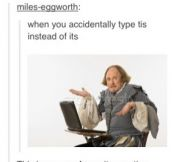 Dammit Shakespeare