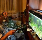 Extreme fishing: home edition