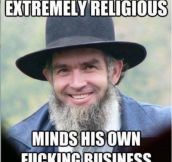 Good Guy Amish Man