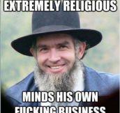 Good Guy Amish Man