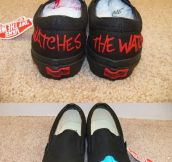 Slipper style shoes