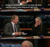 Willie Nelson on the dangers of Marijuana