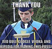 Wise graduation words