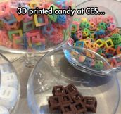 Now I can print my candies…