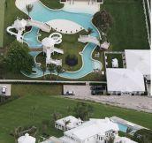 Celine Dion's Water park…