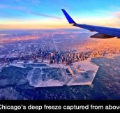 Chicago's deep freeze…