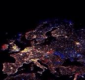 Europe from the sky…