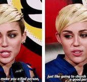 She makes sense sometimes…