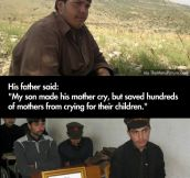 This kid is a true hero…
