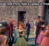 Frozen's easter egg…