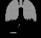The most clever anti-smoking advertisement ever…