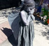 Little weeping angel…