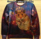 King hamster…