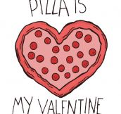 I love you, pizza…