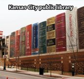 Amazing Kansas City public library…