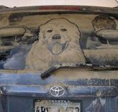 Incredible mud art…