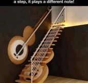 Musical staircase…