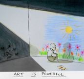 Art is powerful…