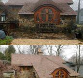 Real life hobbit home…